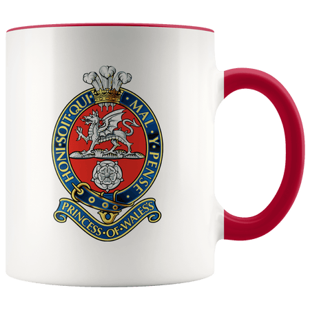 Princess of Wales's Royal Regiment Celebration Mug - regimentalshop.com