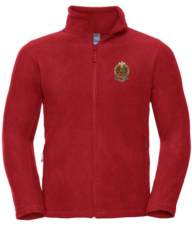Queen's Regiment Premium Outdoor Fleece - regimentalshop.com