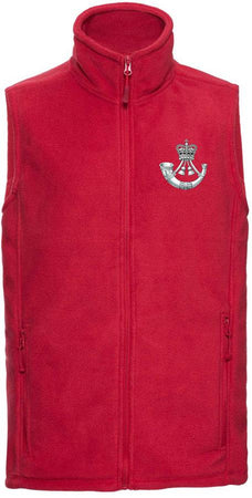 The Rifles Premium Outdoor Sleeveless Regimental Fleece (Gilet) - regimentalshop.com