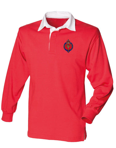 The Welsh Guards Rugby Shirt