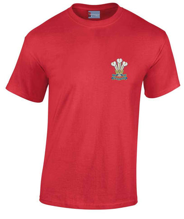 Royal Welsh Heavy Cotton Regimental T-shirt