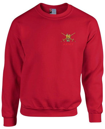 Regular  British Army Heavy Duty Sweatshirt - regimentalshop.com