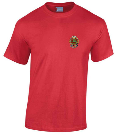 Queen's Regiment Heavy Cotton T-shirt
