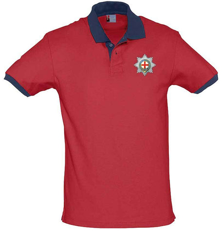 Coldstream Guards Two-Tone Regimental Polo Shirt