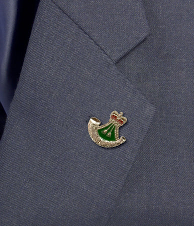 Rifles Regimental Lapel Badge - regimentalshop.com
