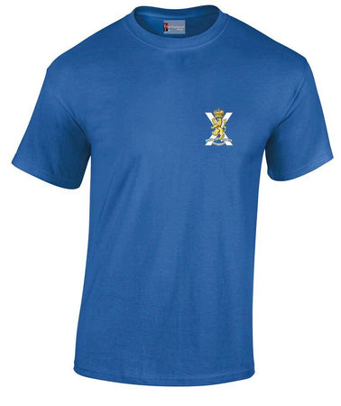 Royal Regiment of Scotland Heavy Cotton T-shirt