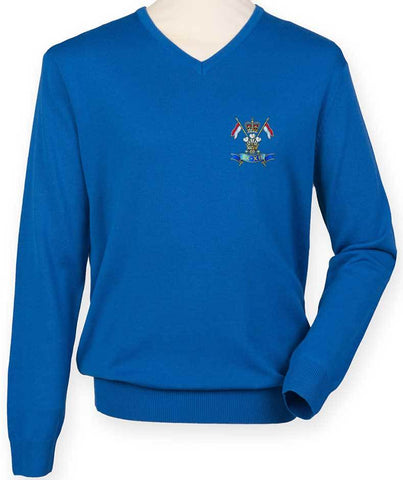 9/12 Royal Lancers Regimental Lightweight Jumper - regimentalshop.com