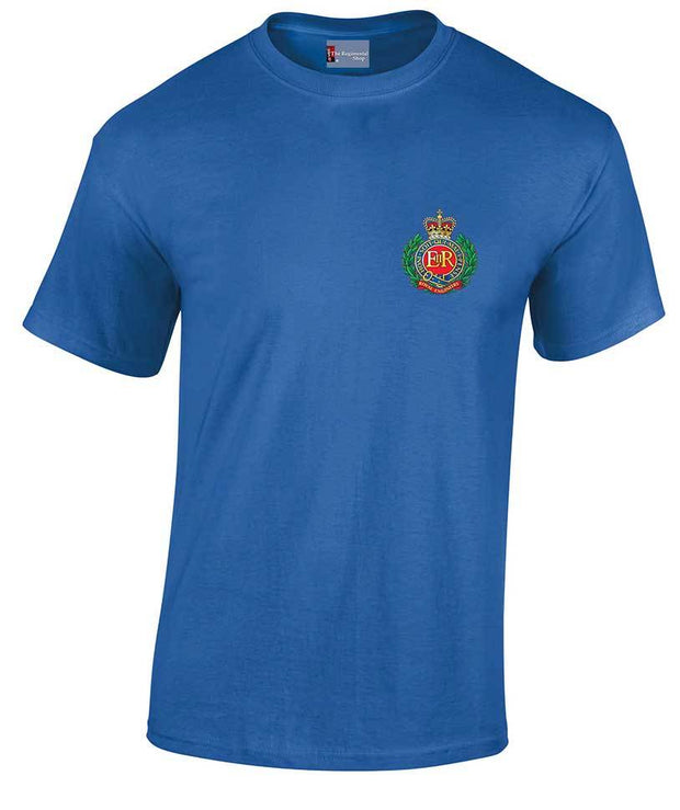 Royal Engineers Heavy Cotton Regimental T-shirt - regimentalshop.com