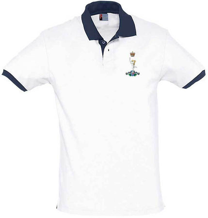 Royal Corps of Signals Regimental Two-Tone Polo Shirt - regimentalshop.com