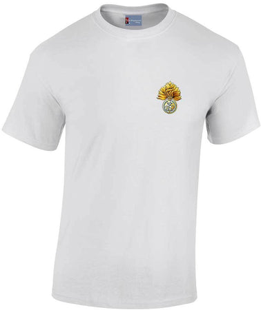 Royal Regiment of Fusiliers Heavy Cotton T-shirt - regimentalshop.com