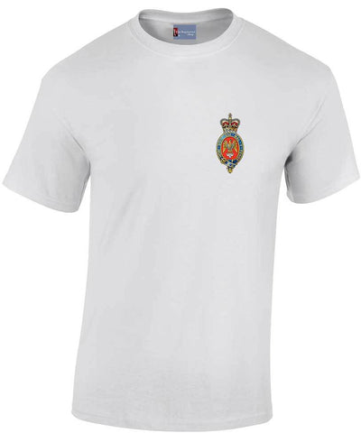 Blues and Royals Heavy Cotton T-shirt - regimentalshop.com
