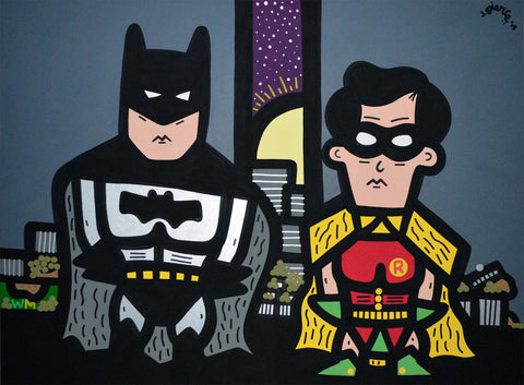 BATMAN & ROBIN IN THE STREETS