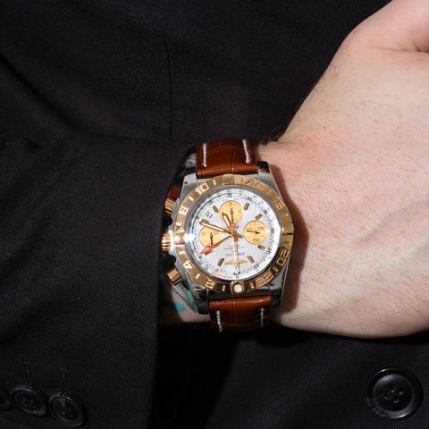Pre-Owned Breitling Chronomat GMT Timepiece