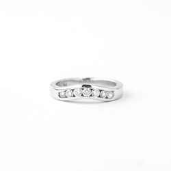 Pre-Owned Ladies Diamond Wedding Band