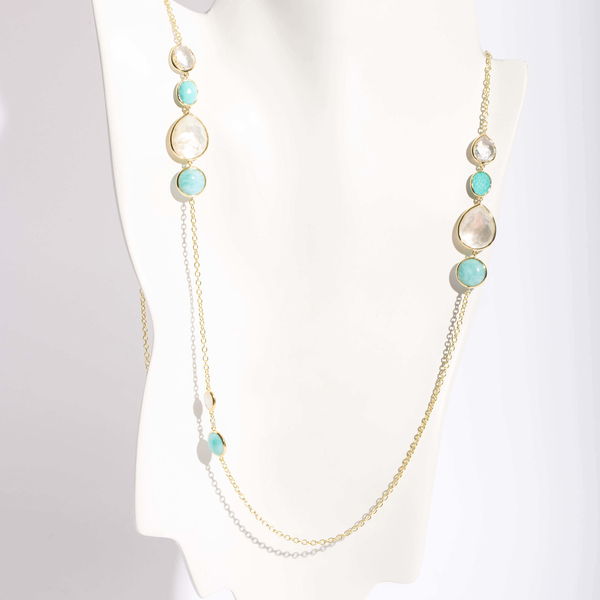 Pre-Owned Ippolita Gelato Mix Gem Necklace