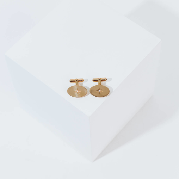 Pre-owned Diamond Cufflinks