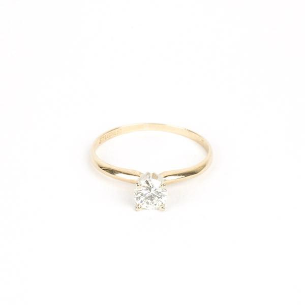 Pre-Owned Solitaire Ring