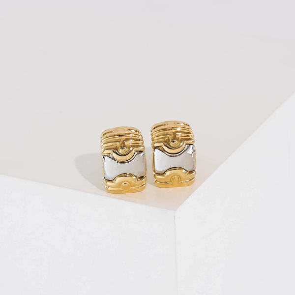 Pre-Owned Bvlgari Parentesi Earrings