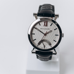 Pre-owned Bvlgari Sotirio Retrograde