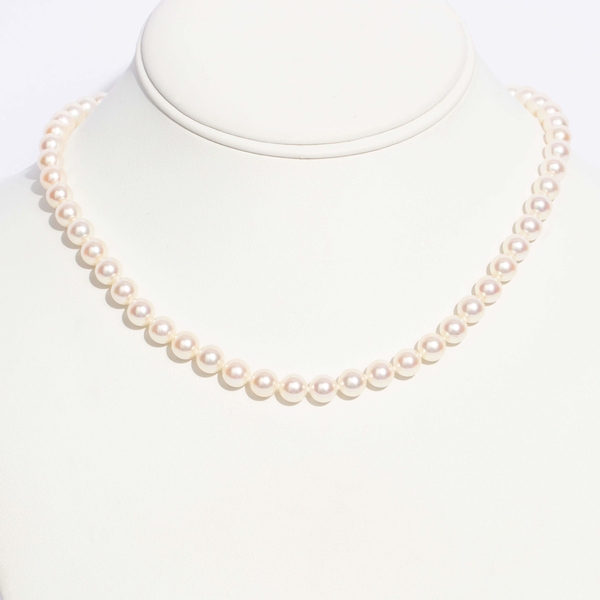Pre-Owned Mikimoto Akoya Pearl Necklace