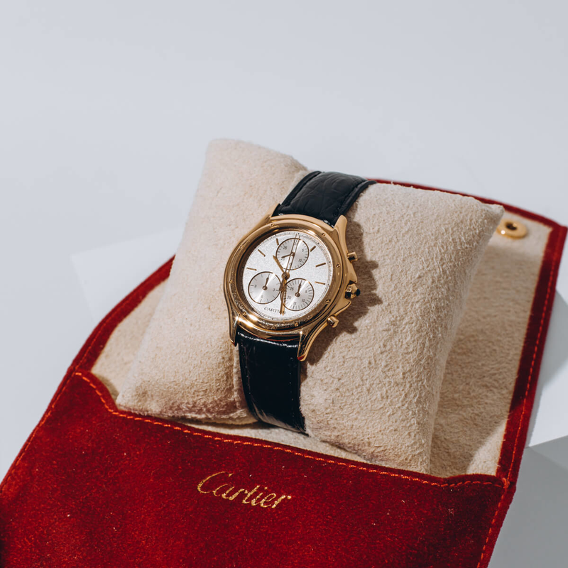 Pre-Owned Cartier Ladies Cougar Chronoflex Timepiece
