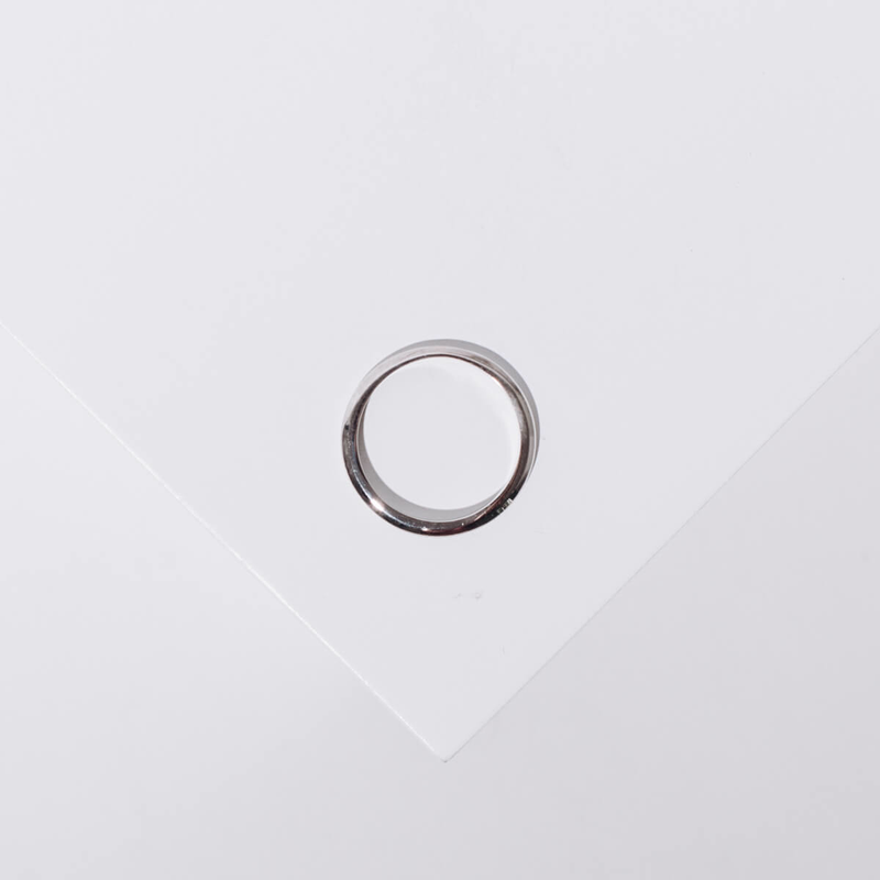 Pre-owned Knife Edge Ring