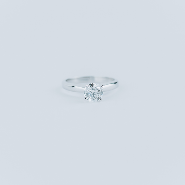 PRE-OWNED 1 CT ENGAGEMENT RING