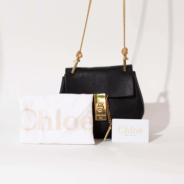 Pre-Owned Chloe Small Drew Bag