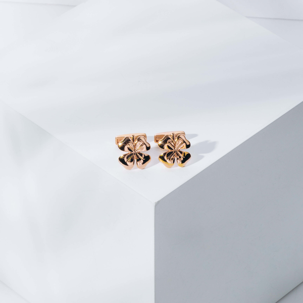 Pre-Owned Alfred Dunhill Four Leaf Clover Cufflinks