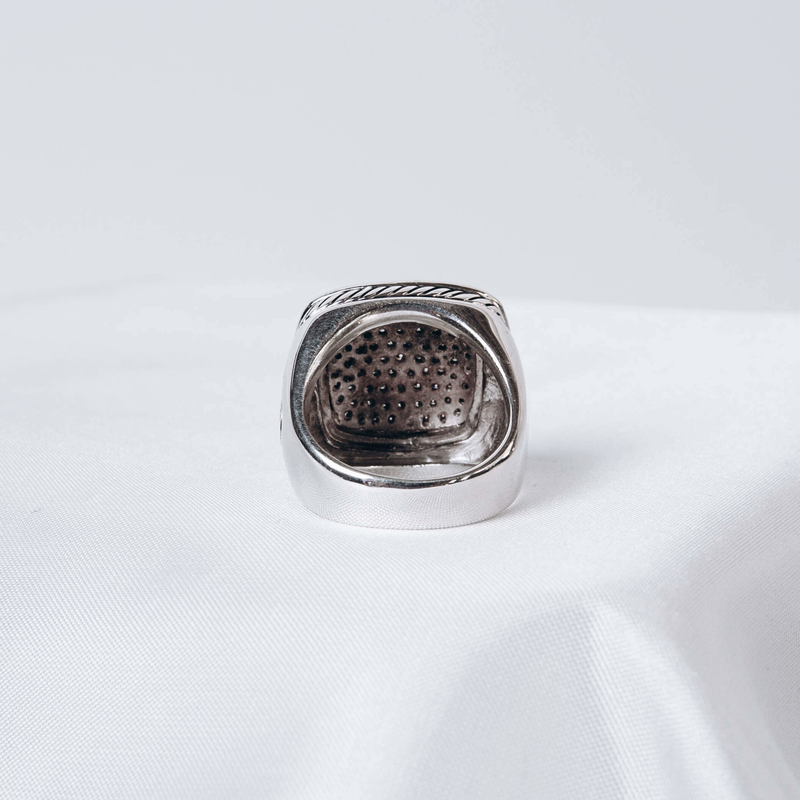 Pre-Owned David Yurman Diamond Pave Albion Ring