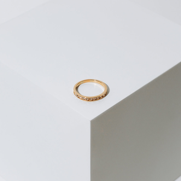 Pre-owned Diamond Wedding Band