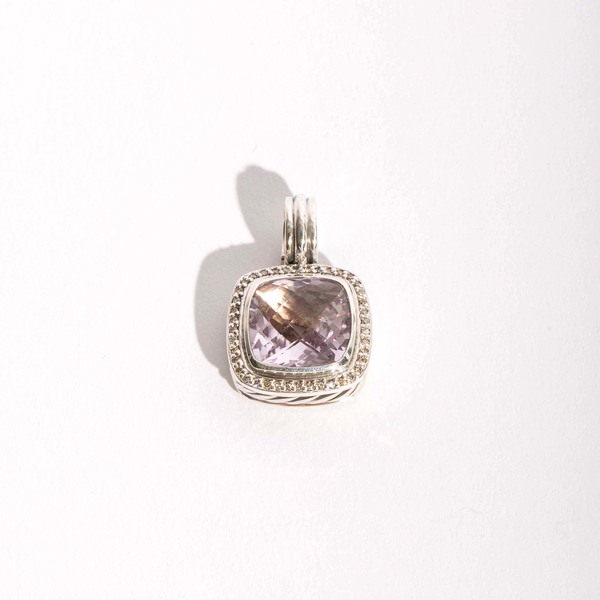 Pre-Owned David Yurman Lavender Amethyst and Diamond Albion Enhancer