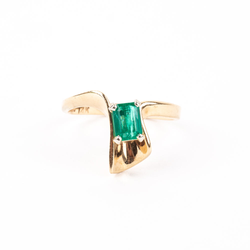 Pre-Owned Emerald Ring