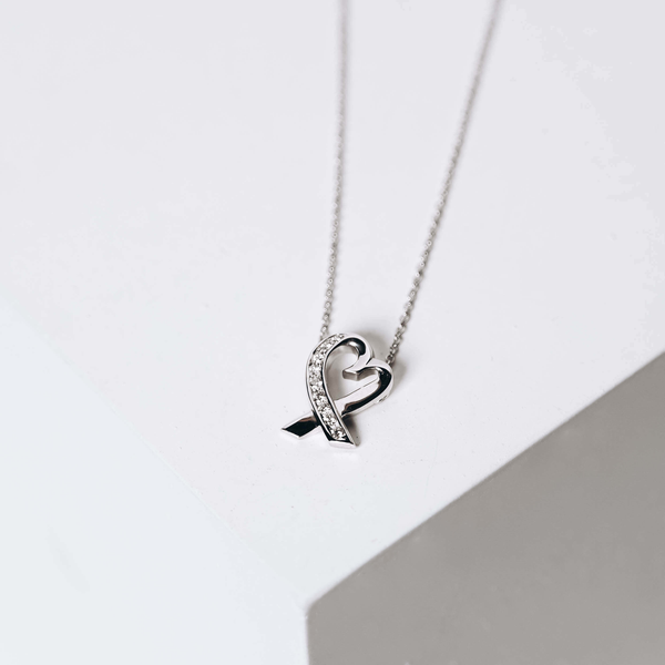 Pre-Owned Tiffany & Co. Diamond Heart Pendant