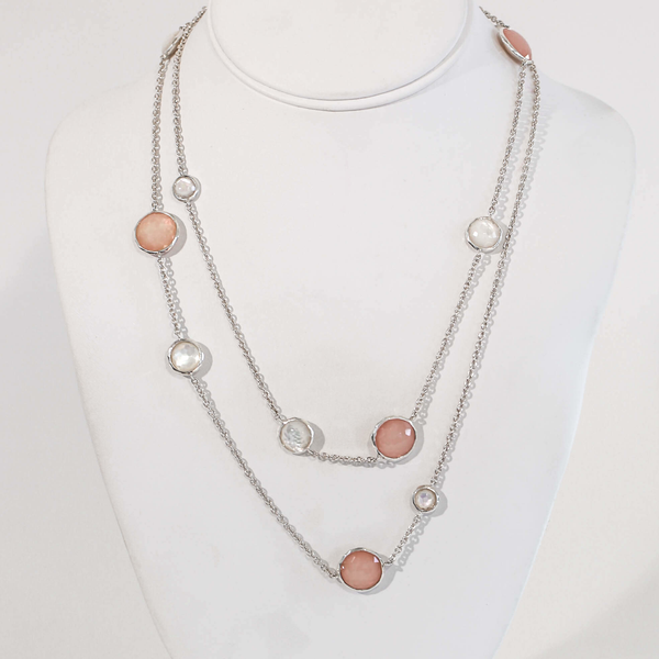 Pre-Owned Ippolita Blush Mother of Pearl Wonderland Necklace