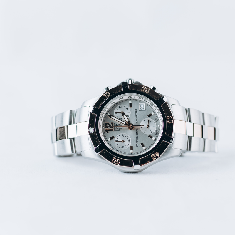 Pre-owned Tag Heuer 2000 Chronograph