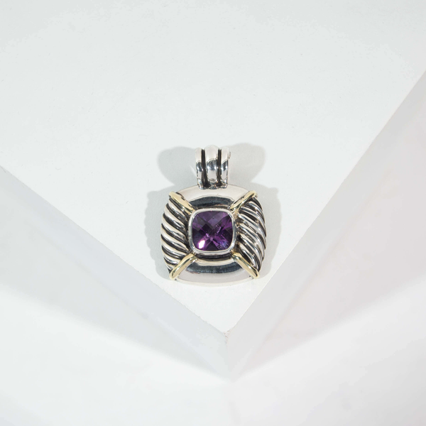 Pre-Owned David Yurman Amethyst Enhancer