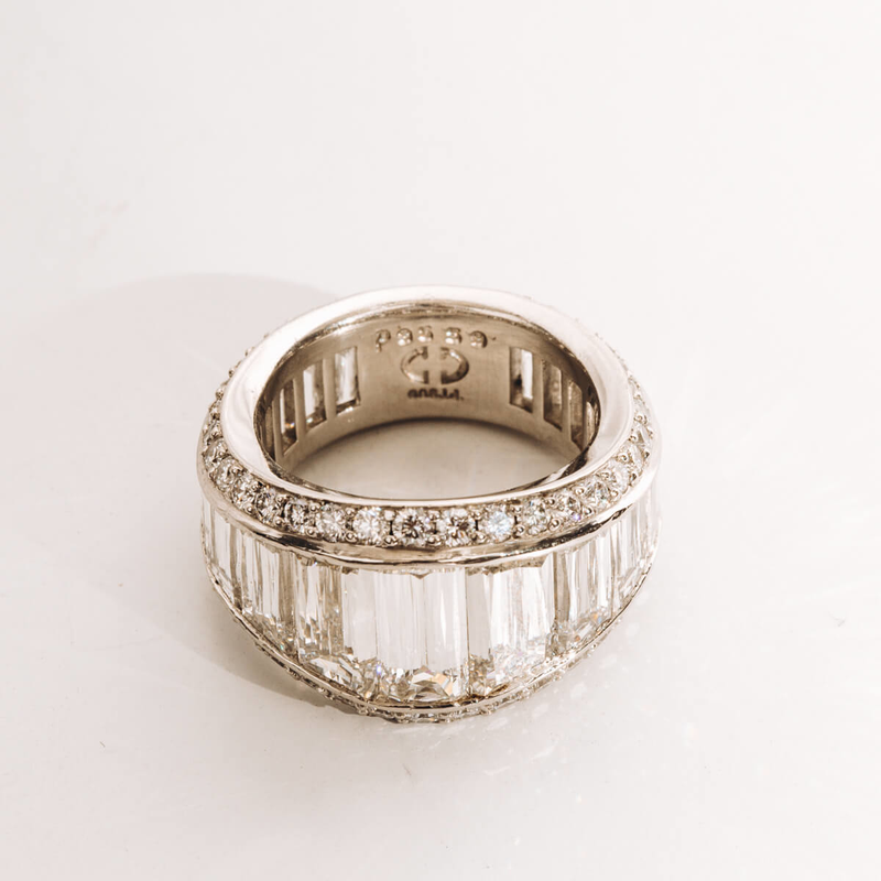 Pre-Owned Christopher Designs Diamond Band