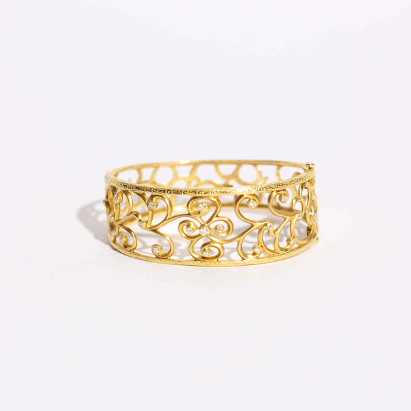 Pre-Owned Penny Preville Diamond Bangle