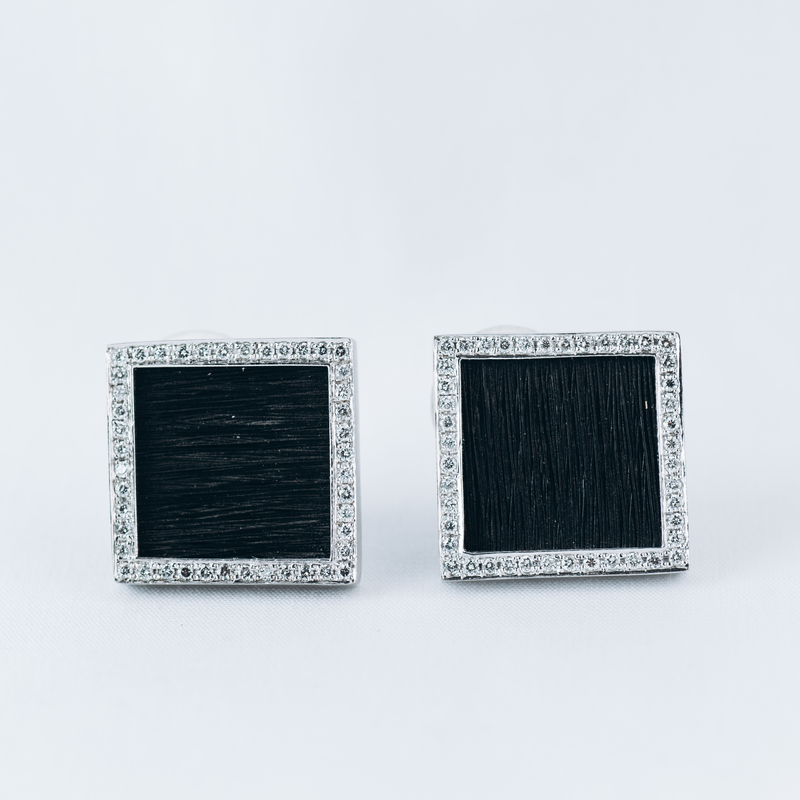 Pre-Owned Yvel Diamond Earrings