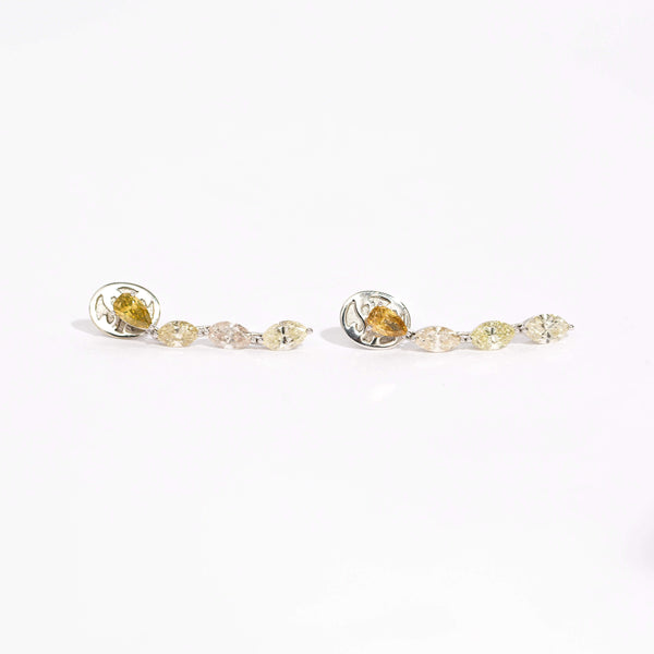 Pre-Owned J. Stella Fancy Color Diamond Earrings