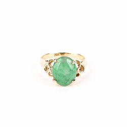 Pre-Owned Jadeite Fashion Ring