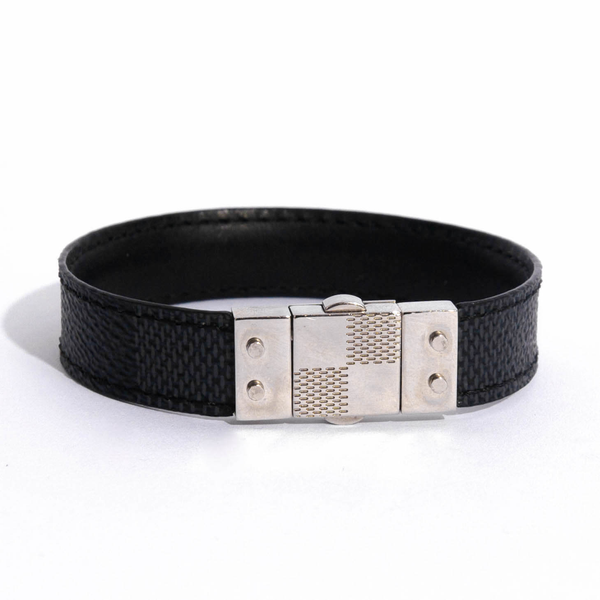 Pre-Owned Louis Vuitton Reversible Check It Bracelet