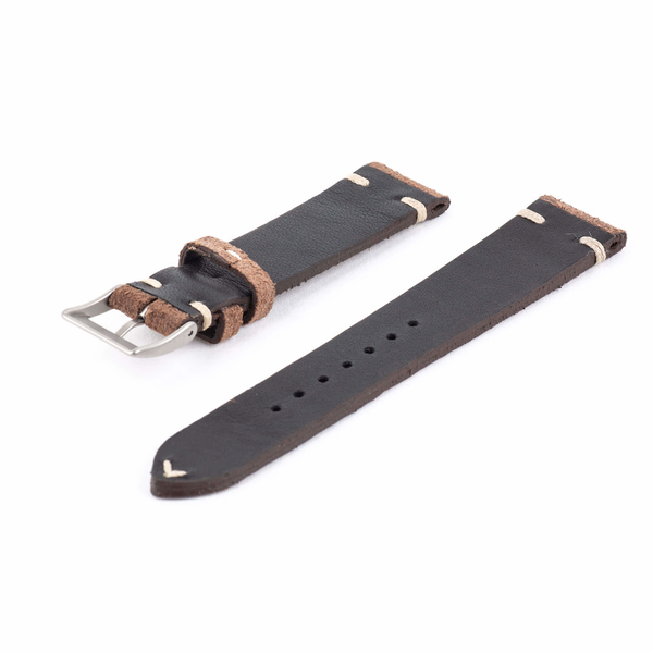 Brown Leather Watch Strap