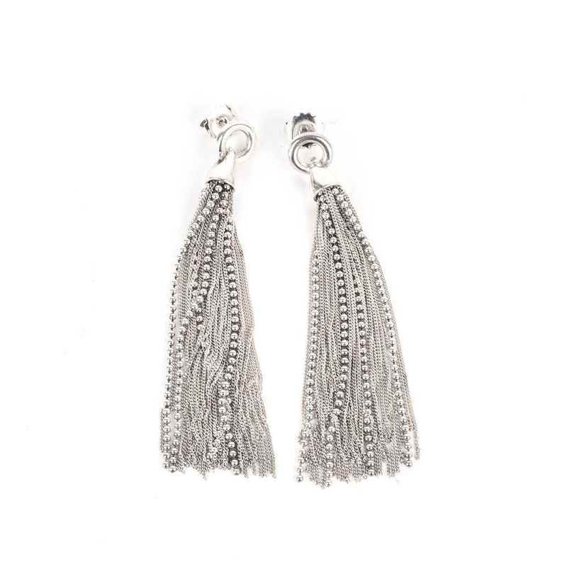 Pre-Owned Multi Strand Dangle Earrings