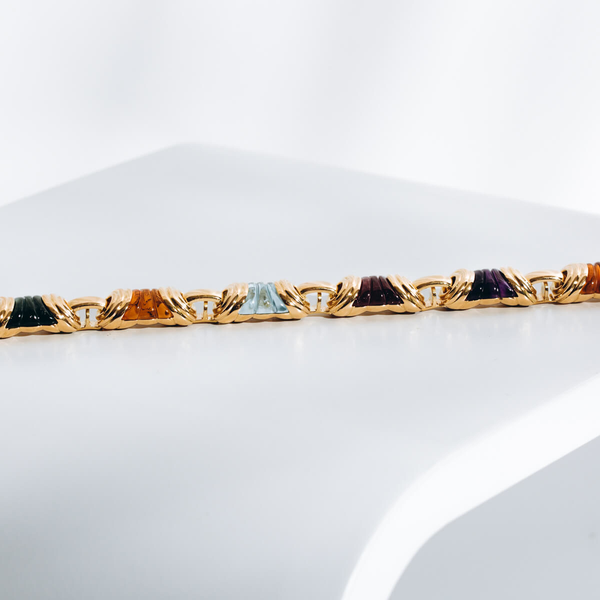 Pre-owned Gemstone Bracelet