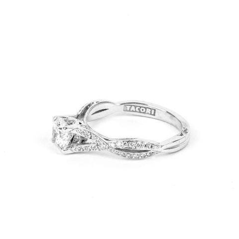 Pre-Owned Tacori Ribbon Diamond Engagement Ring