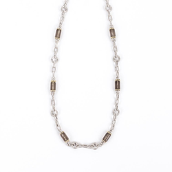 Pre-Owned Smoky Quartz Bead Necklace