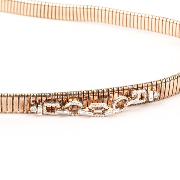 Pre-Owned Diamond Wrap Around Bracelet