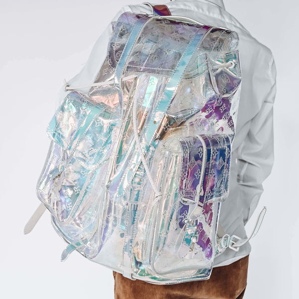 Pre-Owned Louis Vuitton Virgil Abloh Prism Christopher GM Backpack